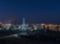 horizon-railroad-skyline-night-city-skys
