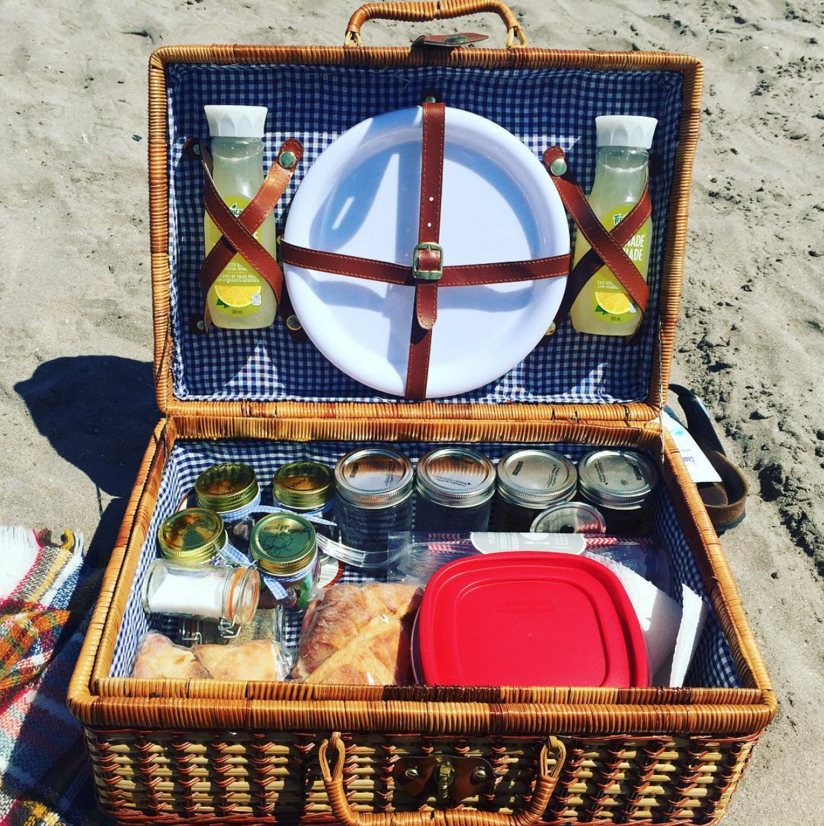 Romantic Picnic at Cobourg Beach