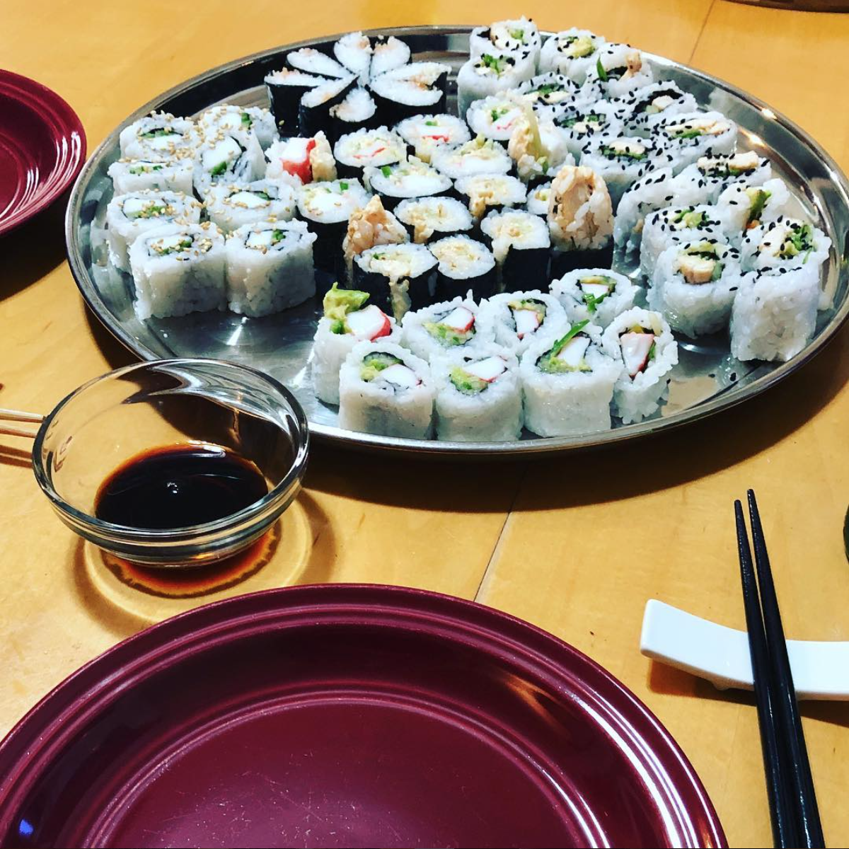 Making sushi at home isn't as hard as it looks!