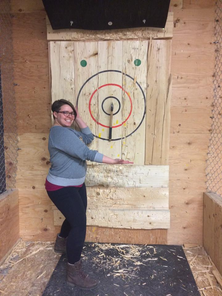 Team Building Event @ Axe Throwing PTBO