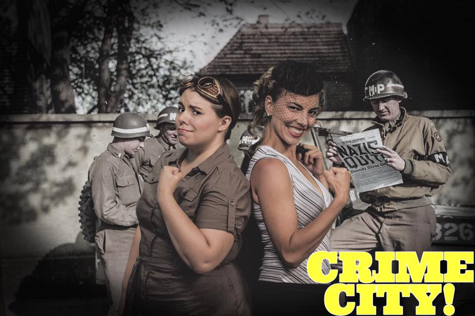 Crime City Promo Shot with Marsala Lukianchuk