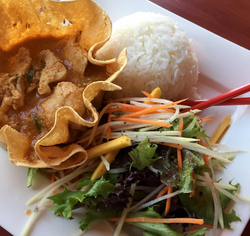 Favourite dish from one of my favourite local eateries; Karma's Cafe on Hunter Street!