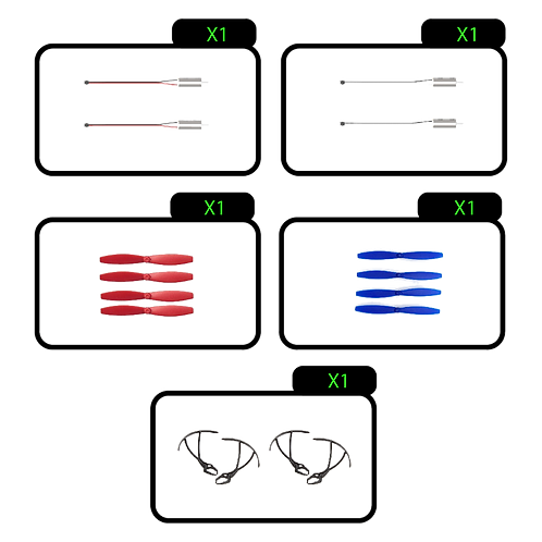 RADC Spare Parts Kit