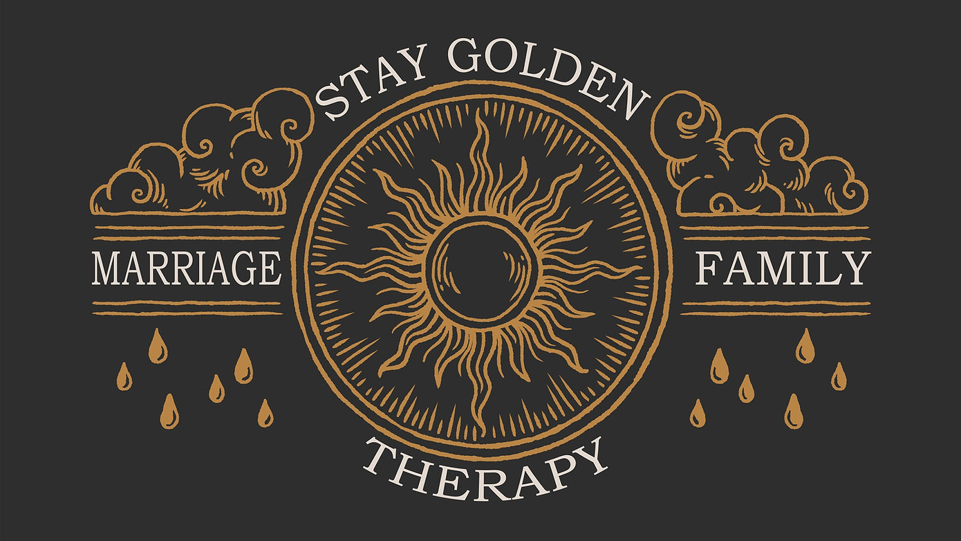 Stay Golden Therapy Logo, therapy in Kansas City