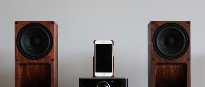 木製積層スパイラルホーンスピーカーボックス<大>1本【総無垢材造り】ユニット別