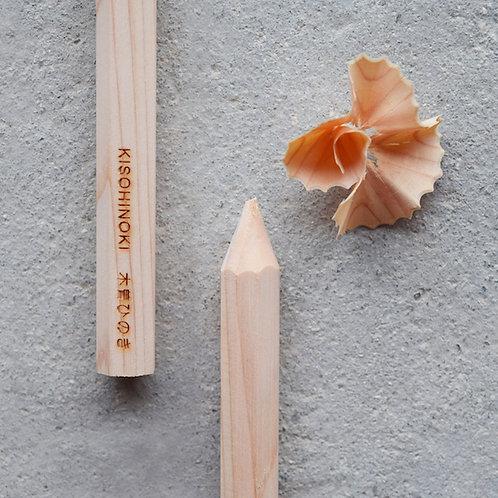 香筆 - 木曽ひのき 木聞器 - KiKiKi 杯型香筆シャープナー専用【香木レフィル】