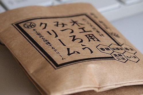 木製iPhoneケース メンテナンス用 蜜蝋クリーム10g