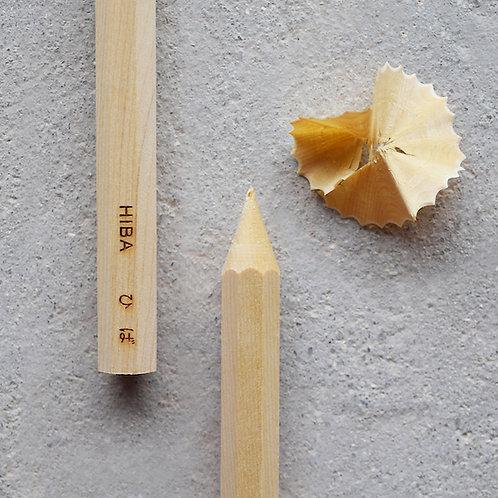 香筆 - ひば 木聞器 - KiKiKi 杯型香筆シャープナー専用【香木レフィル】