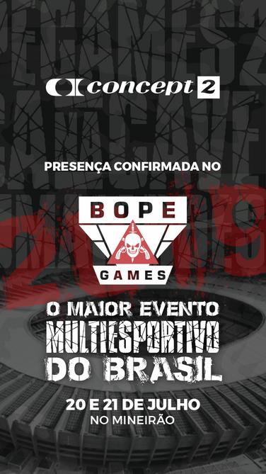 BOPE Games - Patrocinadores - Concept 2.
