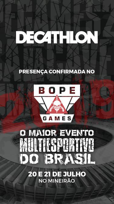 BOPE Games - Patrocinadores - Decathlon.