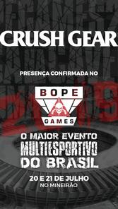 BOPE Games - Patrocinadores - Crush Gear