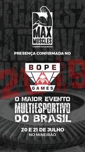 BOPE Games - Patrocinadores - Max Muscle