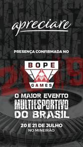 BOPE Games - Patrocinadores - Apreciare.