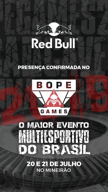 BOPE Games - Patrocinadores - RedBull.pn
