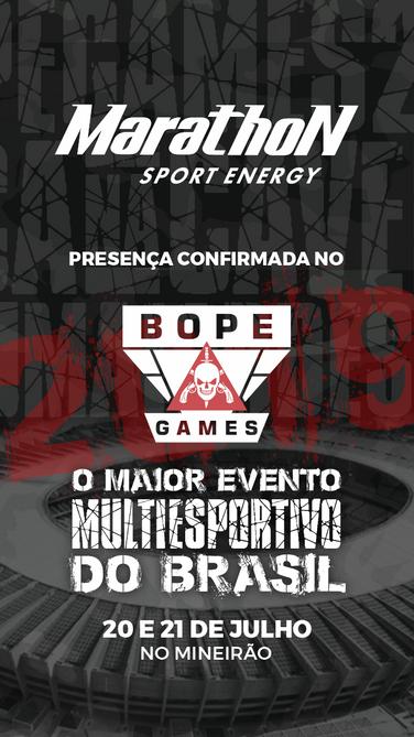 BOPE Games - Patrocinadores - Marathon.p