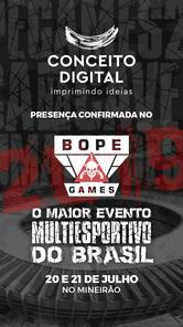BOPE Games - Patrocinadores - Conceito D