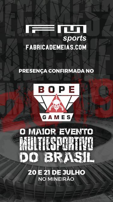 BOPE Games - Patrocinadores - Fabrica de