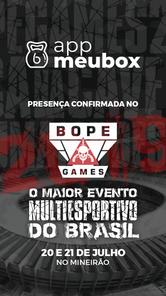 BOPE Games - Patrocinadores - App Meu Bo