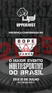 BOPE Games - Patrocinadores - UpperJust.