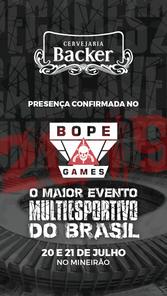 BOPE Games - Patrocinadores - Cervejaria