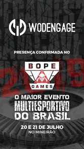 BOPE Games - Patrocinadores - Wodengage.
