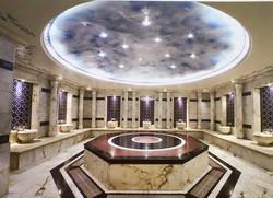 dekoratif ışıklı tavan hamam