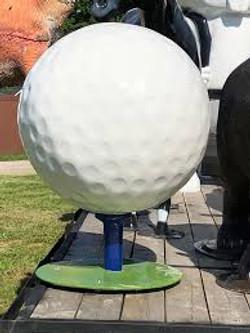 fiberglass golf topu