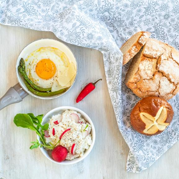 Pastwisko Mazury - śniadanie