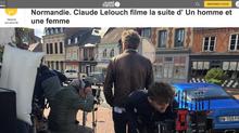 Claude Lelouche tourne son prochain film à Beaumont-en-auge