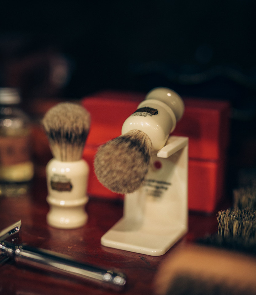 Shave Brushes and Safety Razor