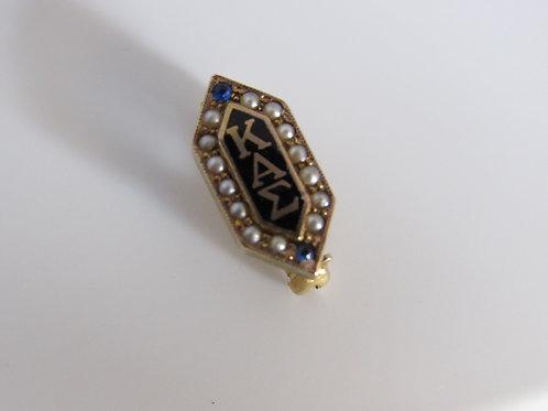 10k Burkes Vintage pin