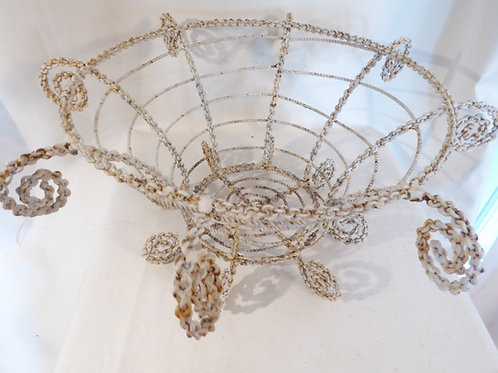 Victorian Wire Basket