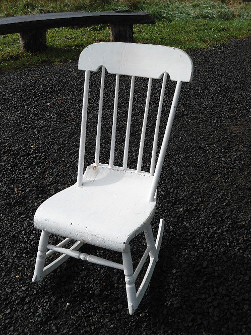 Antique Boston Rocking Chair