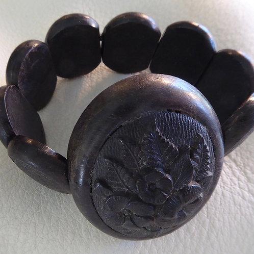 Victorian Bog Oak bracelet