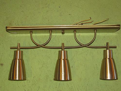 Mid-century Brass Ceiling light fixture