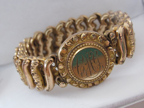 Victorian Rolled Gold Expansion Bracelette