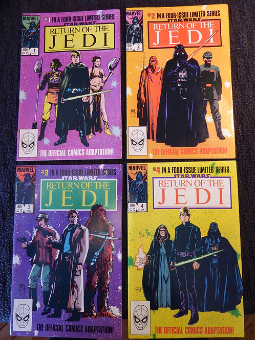 Star Wars: Return of the Jedi #1-4 (1983) from Marvel Comics