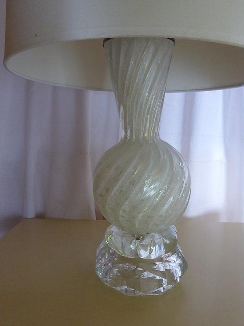 Mid-Century Murano Glass Lamp