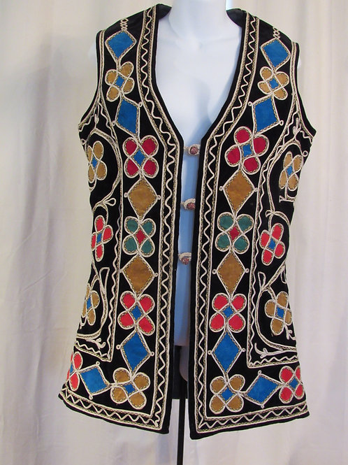 60's Hand Stiched Vest from Pakistan