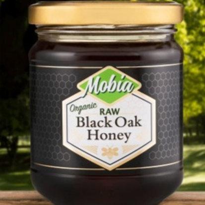 Mobia Raw Black Oak Honey 240g