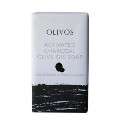 Olive Oil Activated Charcoal Soap Bar 125g