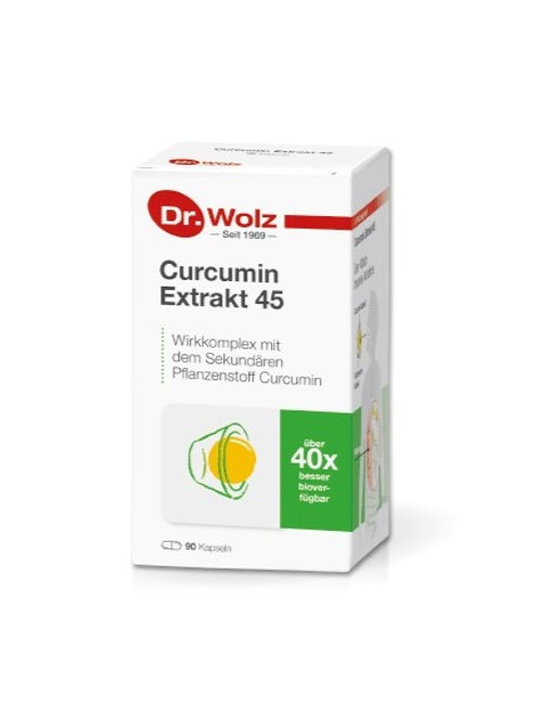 Curcumin Extract 45 90 caps