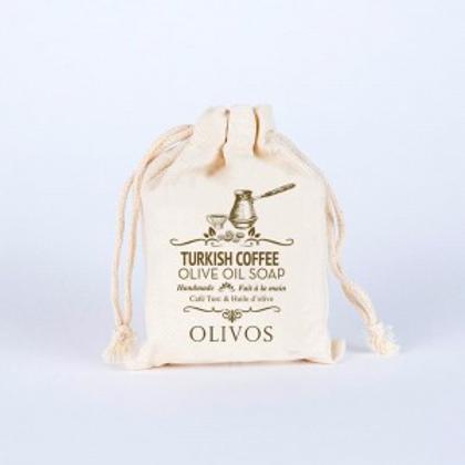 Olive Oil Turkish Coffee  - Soap Bar 150g