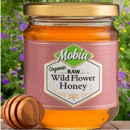 Mobia Raw Wild Flower Honey 900g
