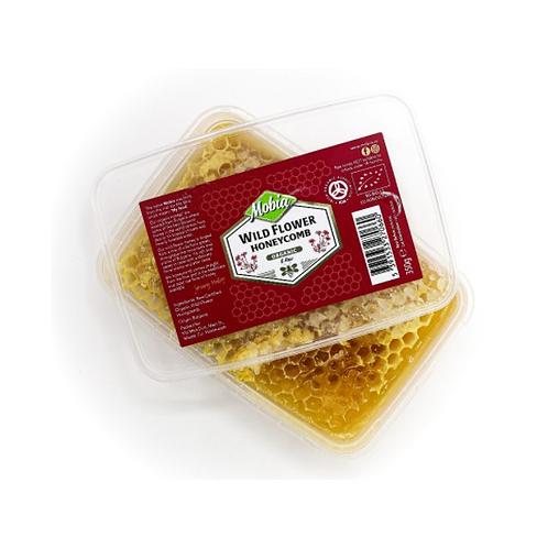 Mobia Wild Flower Honey (HoneyComb) 350g