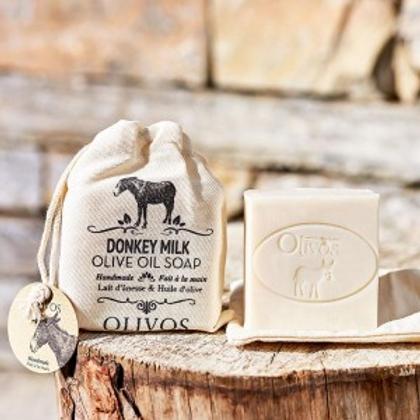 Olive Oil Donkey Milk - Soap Bar 150g
