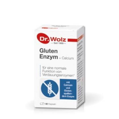 Gluten Enzym+Calcium 60 capsules
