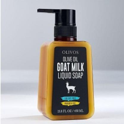 Olive Oil Goat Milk -  Liquid Soap 450ml