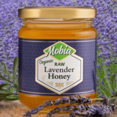 Mobia Raw Lavender Honey 240g