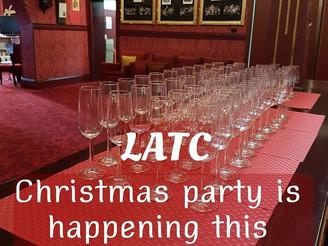 LATC Volunteers Christmas Party 8th Dec